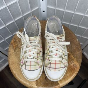 Coach Women's Barrett Plaid Sneakers
